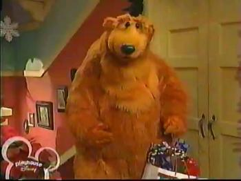 Bear In The Big Blue House - A Berry Bear Christmas Part 2 (Playhouse Disney Broadcast)