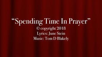 Spending Time In Prayer