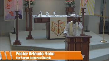 Pastor  J. Orlando Flahn Chosen and appointed to bear fruit based on John 15:9-17