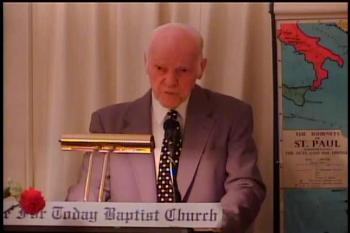 The Gospel  –   1 Corinthians 15:1-6   –  Pastor D. A. Waite  –  BFTBC