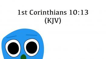 BIBLE Bits: 1 Corinthians 10:13
