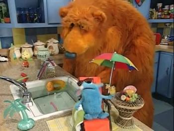 bear in the big blue house summer cooler - Bear Inthe Big Blue House Christmas