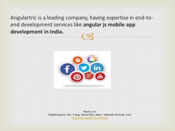 Angular JS Application Development in India - Angulartric
