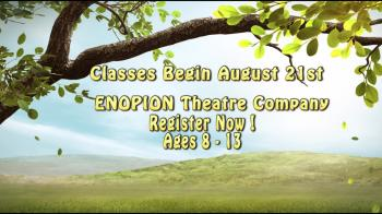 ENOPION  Fall Theatre Class Registration