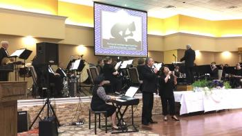 """""""The Prayer"""" performed by Carole Brewer and Paul Swaim at the Winds of Faith 10th Anniversary Concert"""