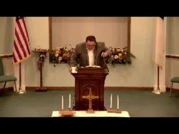 Evening Sermon 7-15-18