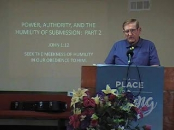 Power, Authority, and the Humility of Submission Part 2