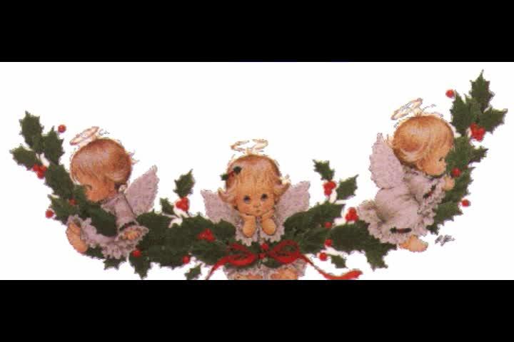 новогодний ангел картинки гиф круто
