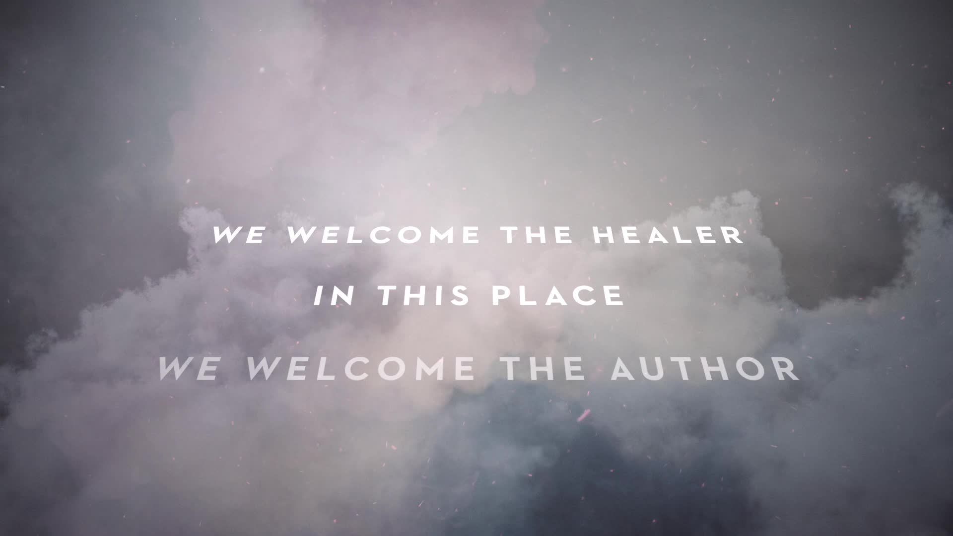 Passion - Welcome The Healer