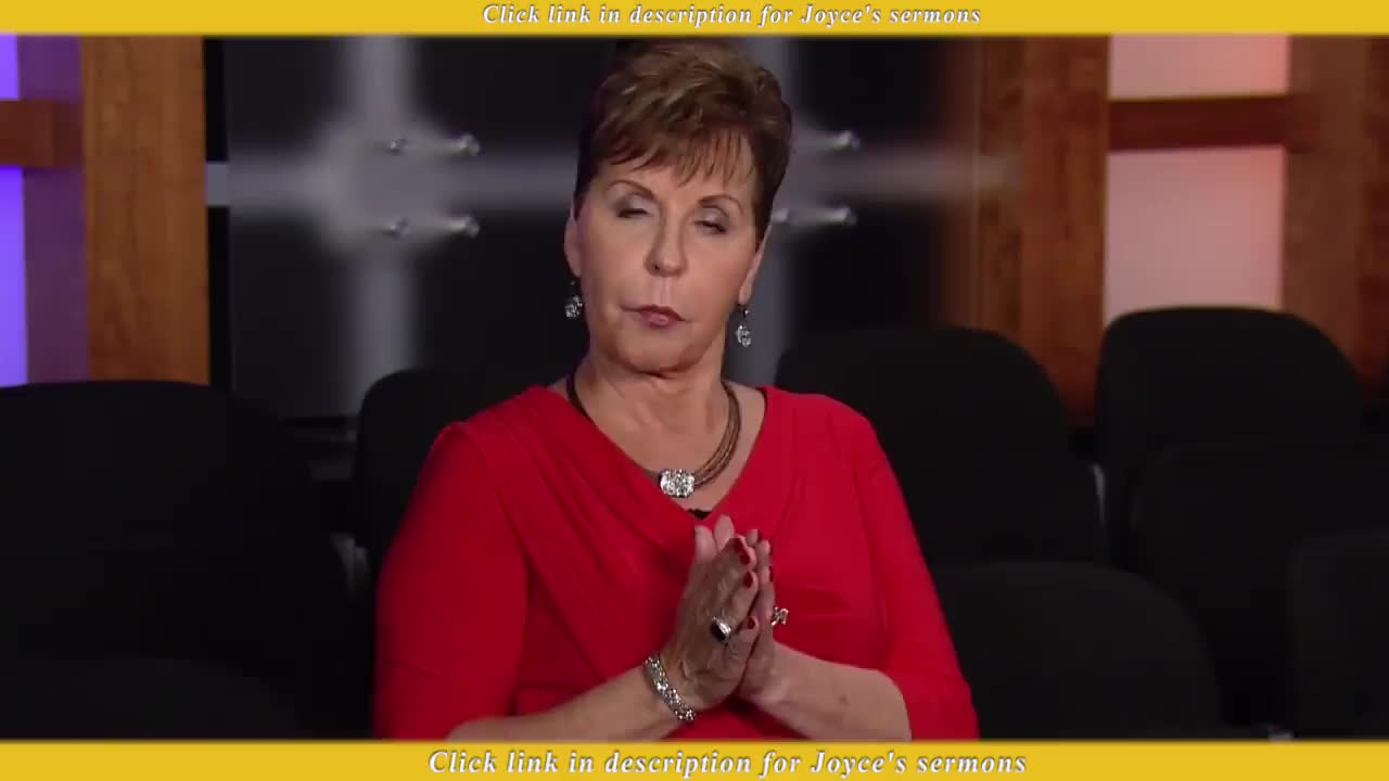 Joyce Meyer Ministries - Are You Too Busy (2019) - Sermon Videos