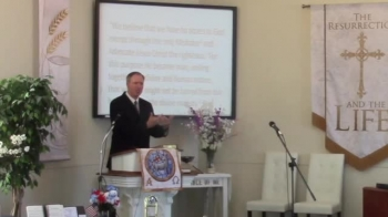 """""""Our Only Mediator,"""" Pastor MacLaren, First Church OPC Perkasie, PA"""