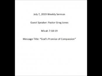 07-07-19 Greencastle COB Weekly Service