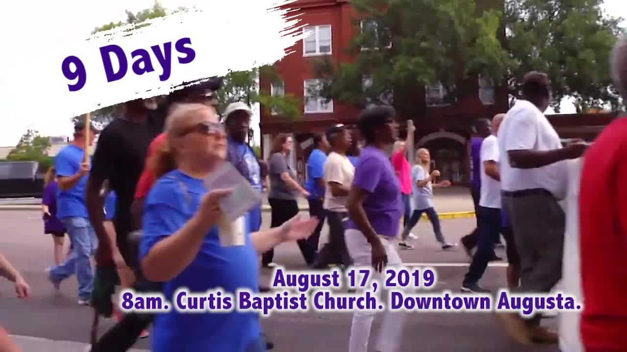 March For Jesus - Augusta, GA event - Ministry Videos