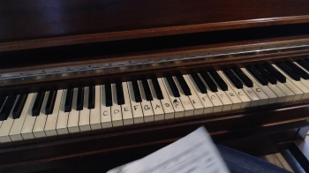 RRCA - Piano LIVE - Treble and Bass Staffs