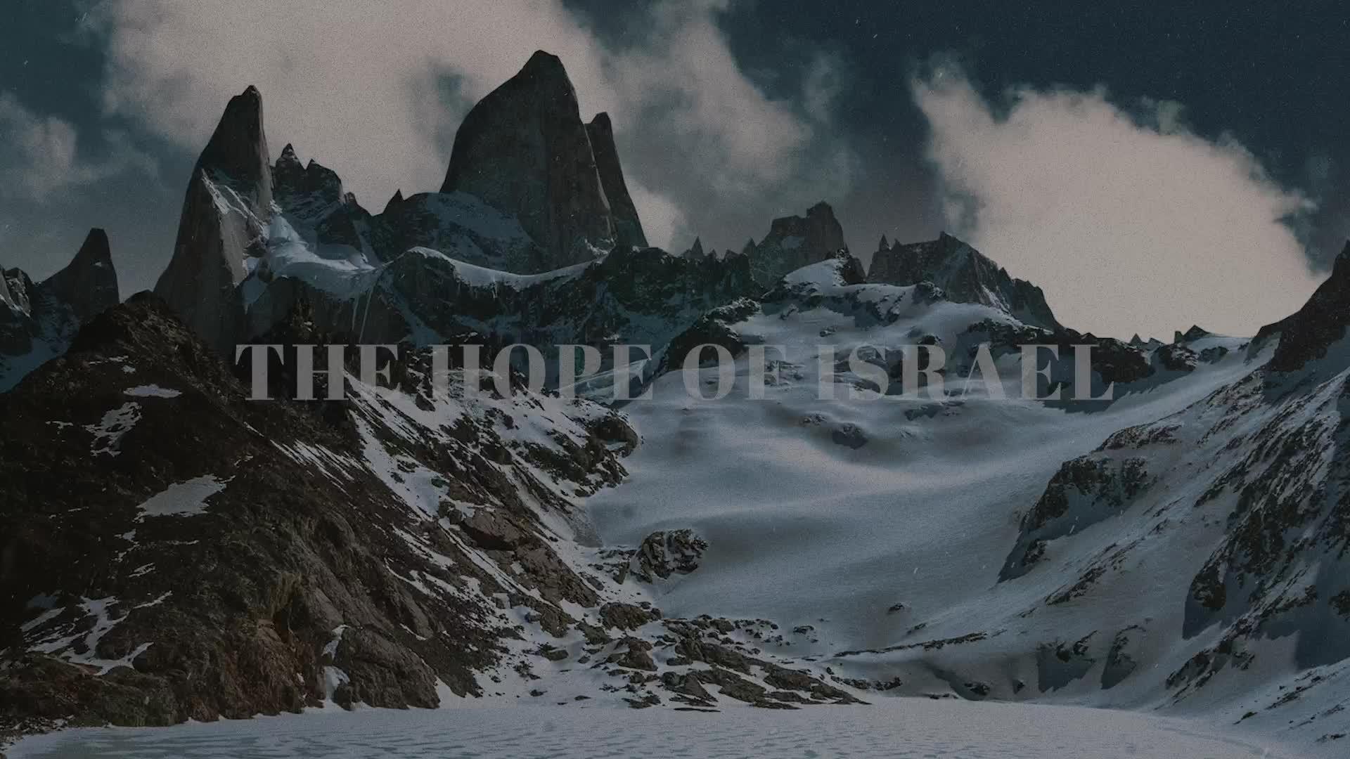 Chris Tomlin - Hope Of Israel