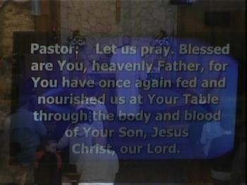 01-26-20  POST COMMUNION PRAYER AND BENEDICTION