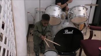 Drummer in Training