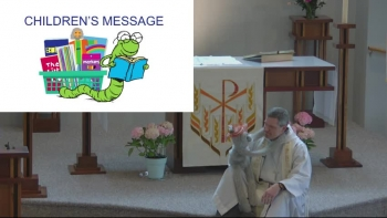 2020 April 12 Children's Message, Easter is No Monkey Business