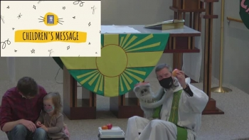 Children's Message: Mary Monkey Bearing Fruit