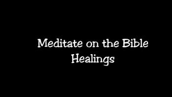 Healings in the Bible - Book Trailer