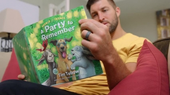 Book Trailer: Bronco and Friends by Tim Tebow