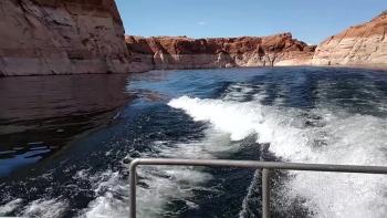 Boat Ride at Lake Powell
