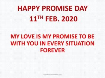 Valentine Week List 2021