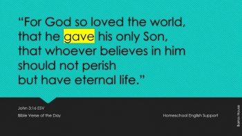 John 3:16 ESV