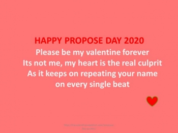 Happy Propose Day Quotes Images 2021