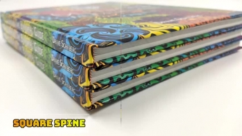 Hardcover book printing in China