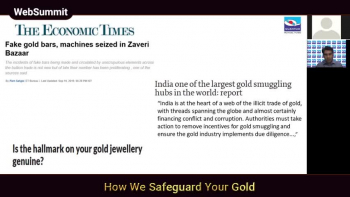How we Safeguard your Gold