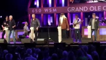 Grand Ole Opry Oak Ridge Boys & Mighty Oaks Band With Todd Taylor. Fan Footage