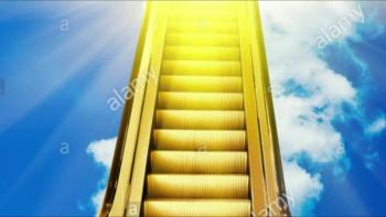 GONNA WALK DEM GOLDEN STAIRS WHEN I DIE BY CB KELTON