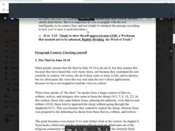 Oreintation Bible Interpretation 9.26.21
