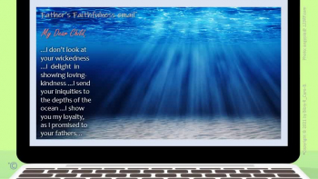 God's Faithfulness email for you