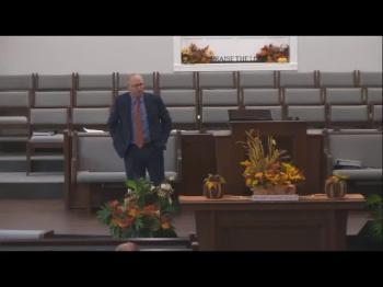 Sunday, October 24, 2021-Joshua's Farewell-Bro. Alan Lamb-AM Service