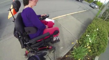 Woman with Disability Gets Help From an Unlikely Place