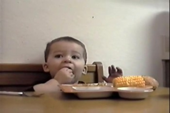 Hilarious Little Boy Sneaks Food While Mommy Says Grace