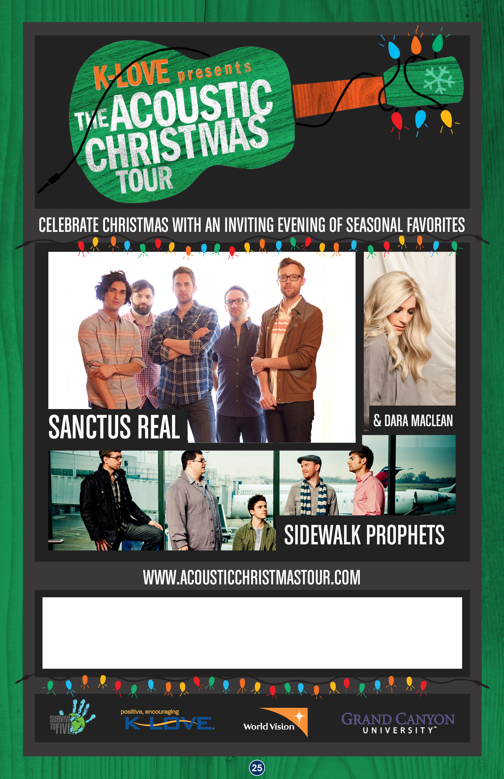 K-Love presents-The Acoustic Christmas Tour - Christian Concert Alerts