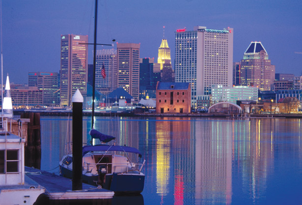 Baltimore-skyline_dusk