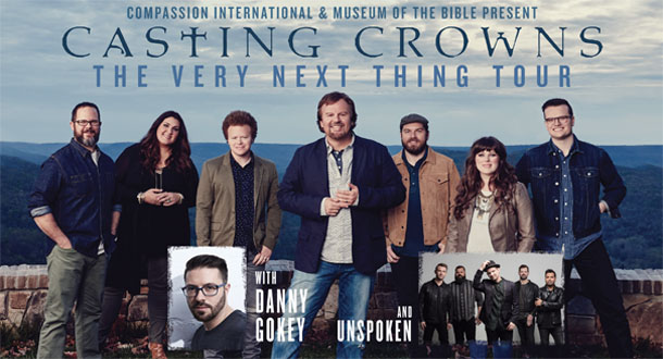 casting crowns the very next thing tour with danny gokey