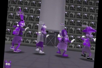 3D Standout: Toontown Style
