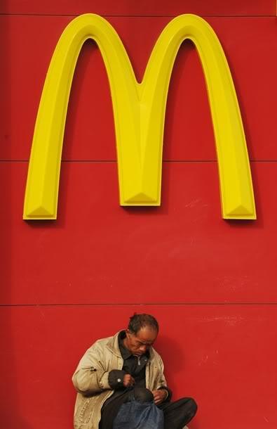 Breakfast at McDonald's
