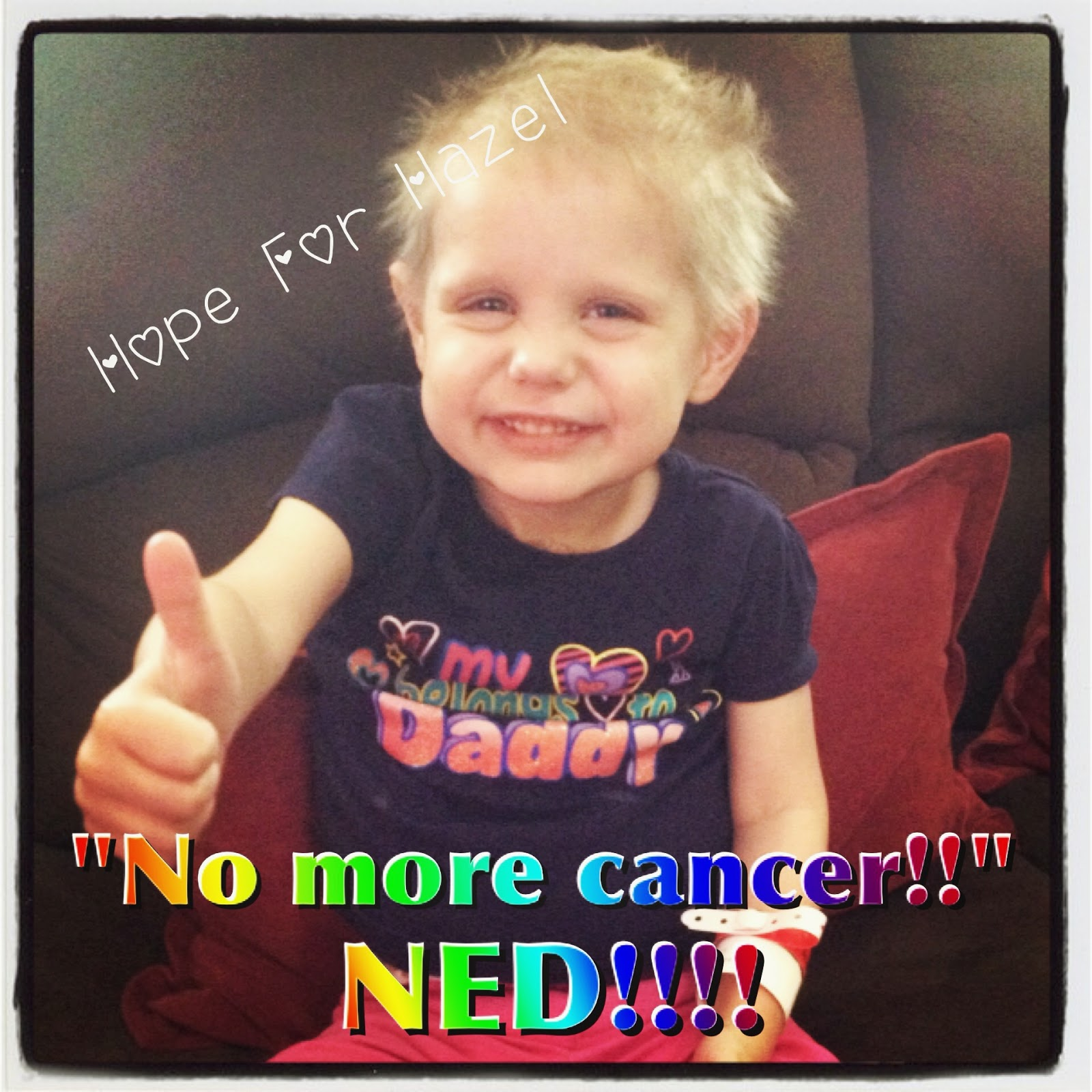 No more cancer!!!