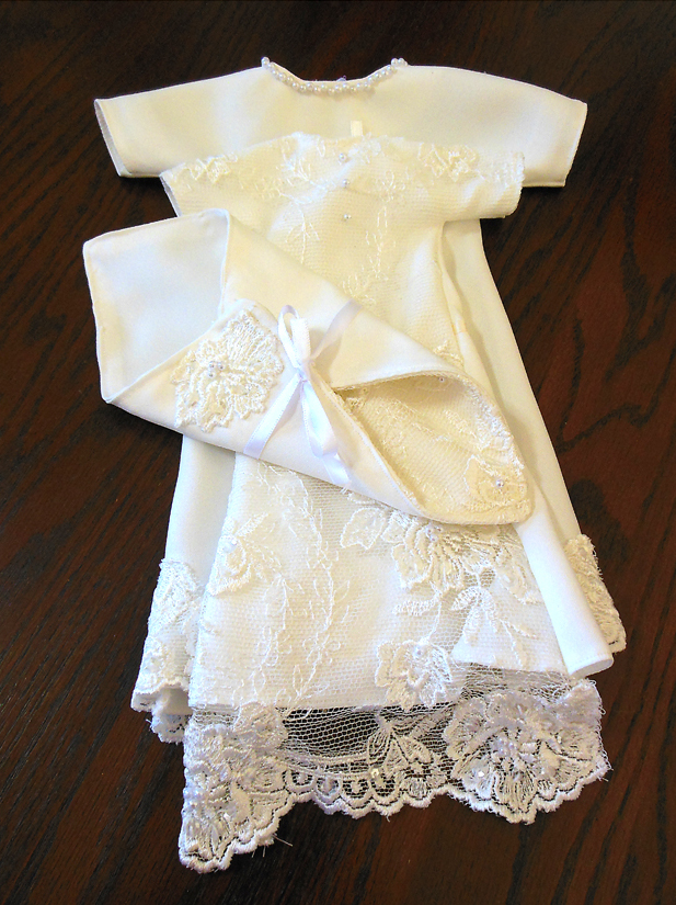 Woman Transforms Wedding Dresses Into Burial Gowns For Stillborn Babies