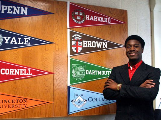 Kwasi Enin is happy about his tough choice.