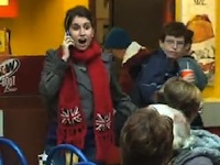 Flash Mob Surprises Everyone by Singing Hallelujah in the Food Court