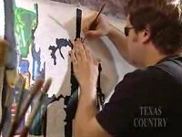 Man Overcomes Blindness to be an Incredible Painter