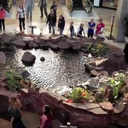 Christian Flash Mob Performs in the Middle of a Mall