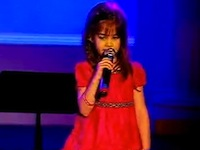Kaitlyn Maher Sings Amazing Grace - Cute and Beautiful